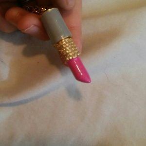 kate spade Jewelry - Kate spade lipstick necklace